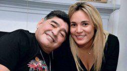 Rocio Oliva fue pareja de Diego Maradona
