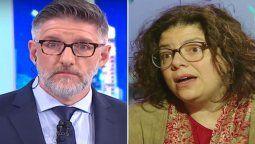 Luis Novaresio criticó a la ministra de salud Carla Vizzotti