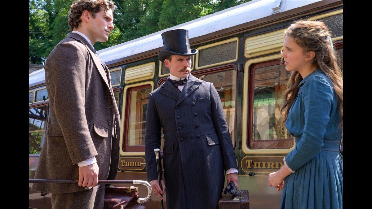 Henry Cavill y Millie Bobbie Brown comparten set en la nueva película de Netflix