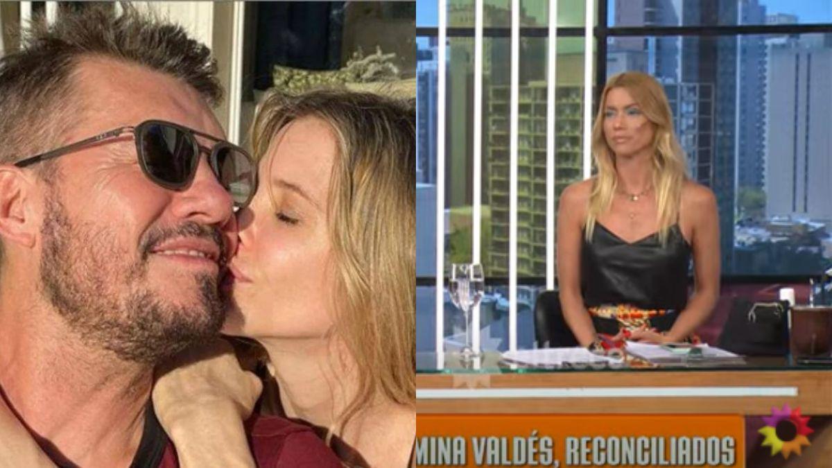 Nicole Neumann opinó sobre la reconciliación de Marcelo Tinelli