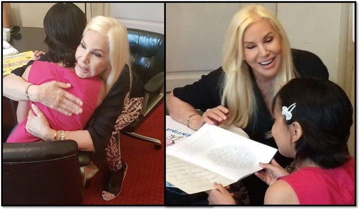 Susana le cumplió el sueño a la nena con cáncer que conmueve en las redes: pasaron una tarde a pura emoción