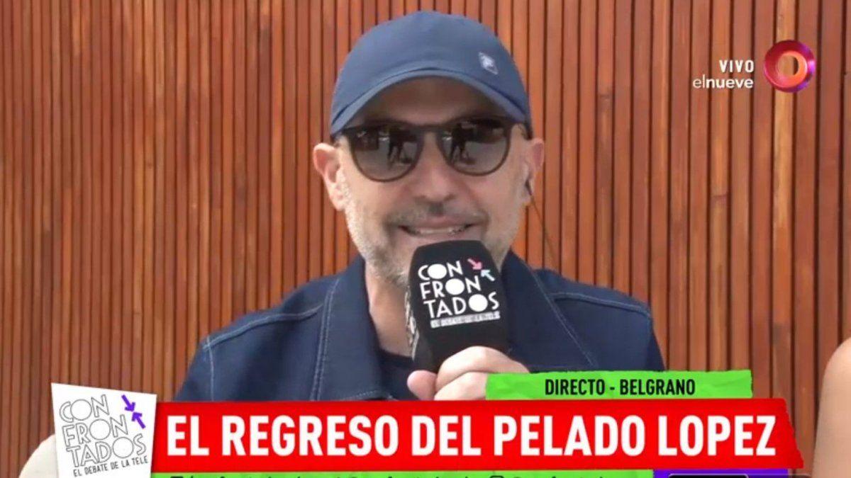 El Pelado López contó su operación que lo alejó de la tele y el llamado de su ex, Jujuy Jiménez