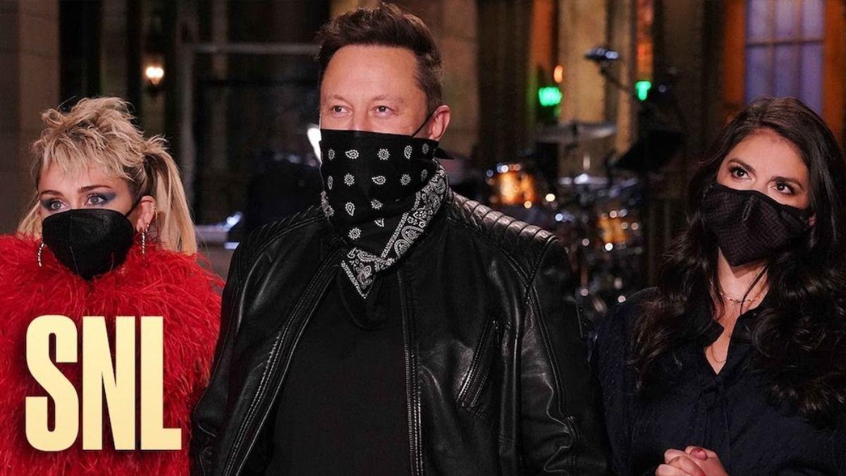 Elon Musk en el spot promocional de Saturday Night Live este sábado