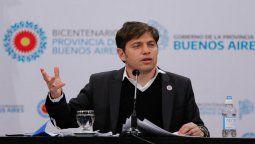 El gobernador Axel Kicillof se encuentra en aislamiento preventivo junto a su familia en la ciudad de La Plata