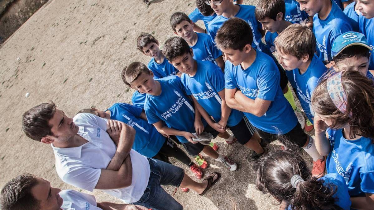 ¡Loable! Iker Casillas se aboca a los niños