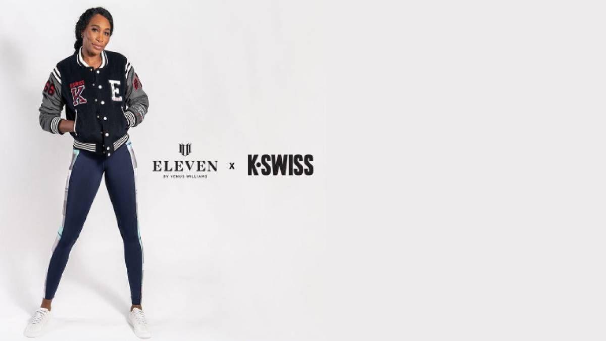 ¡También le toca! Venus Williams se asocia con la marca K-Swiss