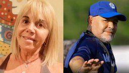 La ex esposa de Maradona Claudia Villafañe está acusada de comenter una presunta evasión fiscal