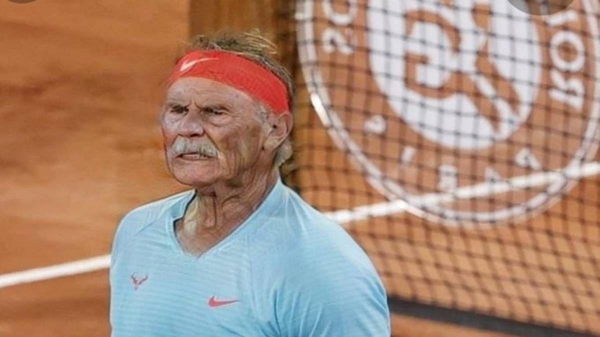 ¡Surrealista! Rafa Nadal sigue ganando en 2050