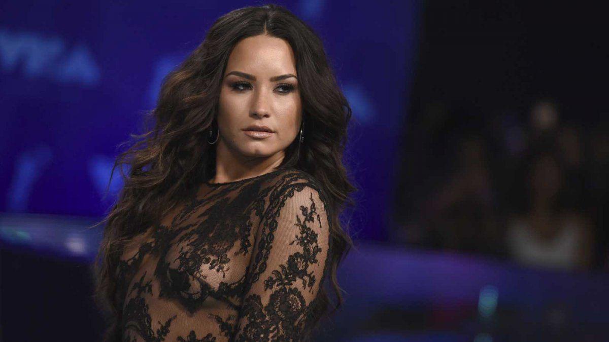 ¡Indignada! Demi Lovato no cree lo que pasó en el Capitolio