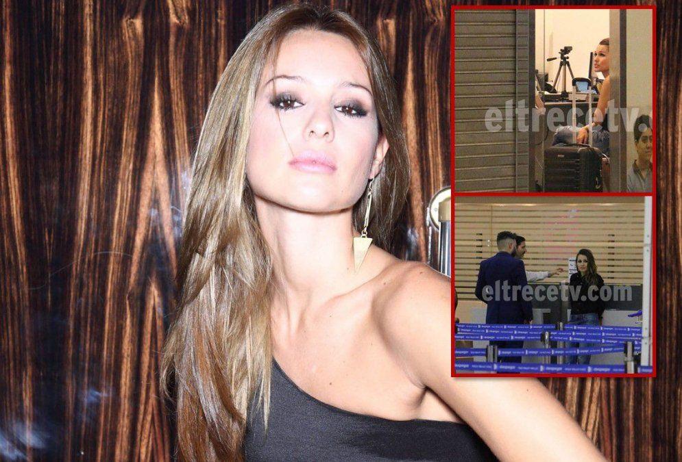 Mal momento para Pampita: Demoraron a la modelo cuando iba a tomar un vuelo a Miami