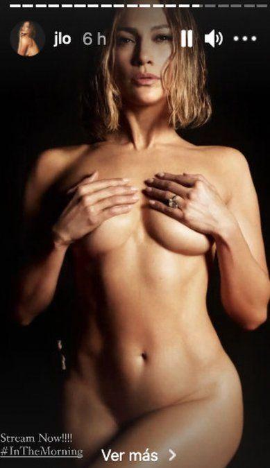 ¡Infartante! Jennifer Lopez y su desnudo integral