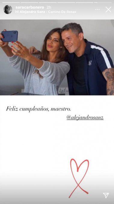 ¡Con cariño! Sara Carbonero