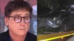 Oscar Mediavilla contó todo lo relacionado con su accidente automovilístico