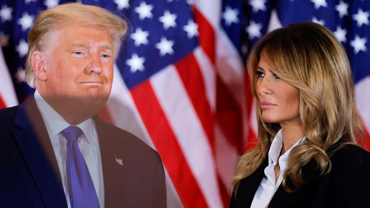 Melania Trump está contando cada minuto para divorciarse