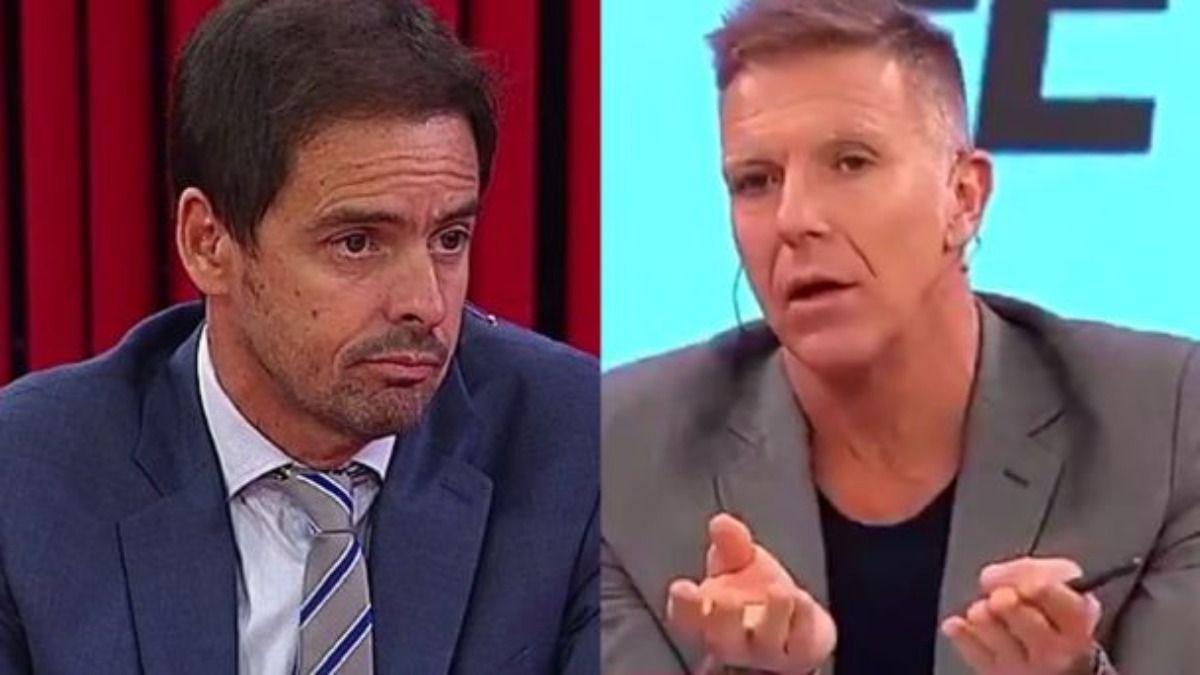 Mariano Closs y Alejandro Fantino se encontraron tras su fuerte cruce en vivo
