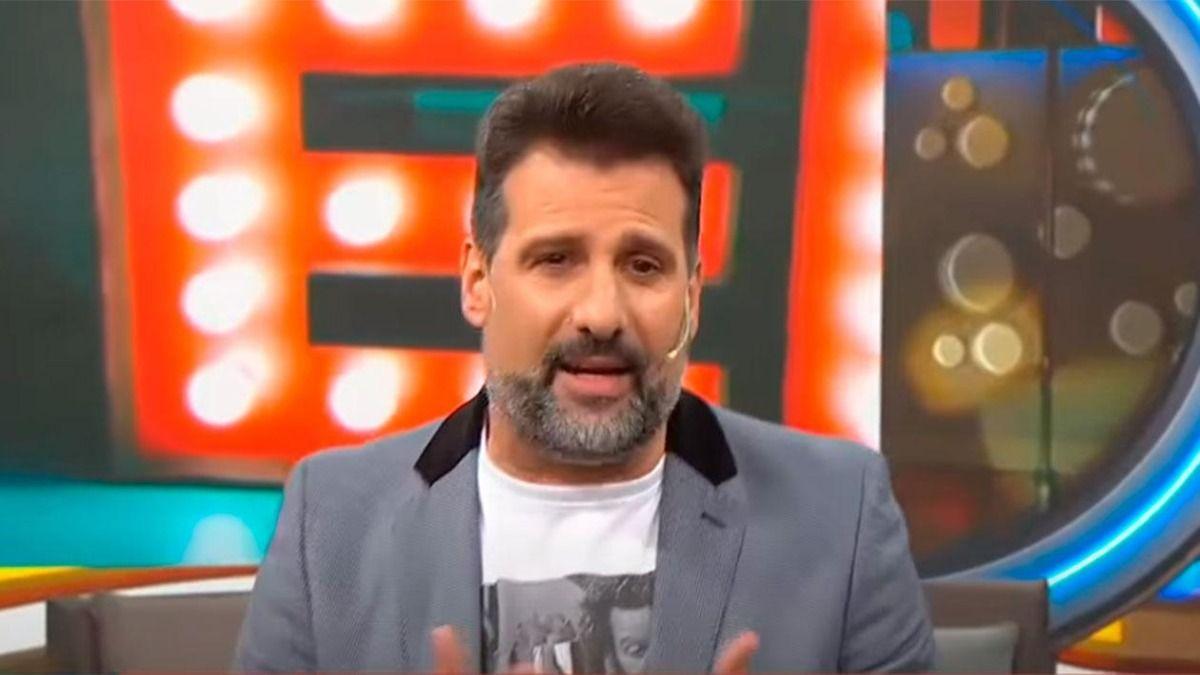 José María Listorti contó la razón de su enojo con Laurita Fernández