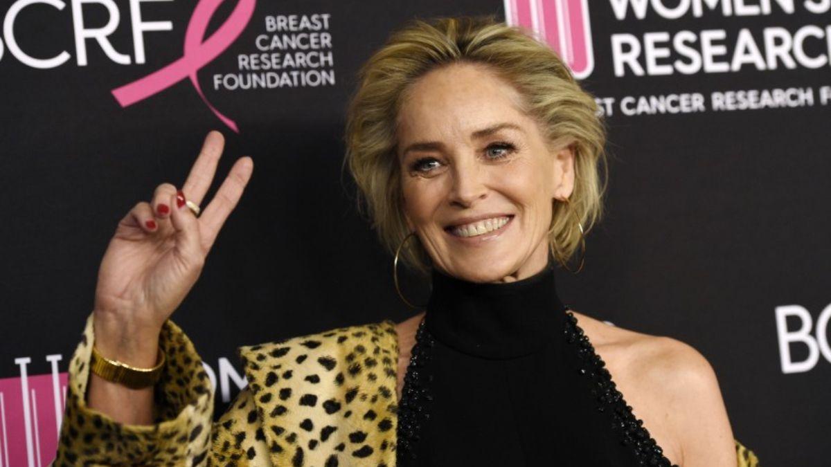 ¡Insólito! Sharon Stone fue alcanzada por un rayo