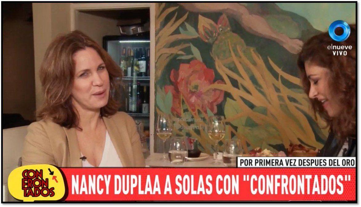 Nancy Dupláa dijo que se bancaría que Oreiro y Echarri hagan una novela juntos: Mi suegra la quiere