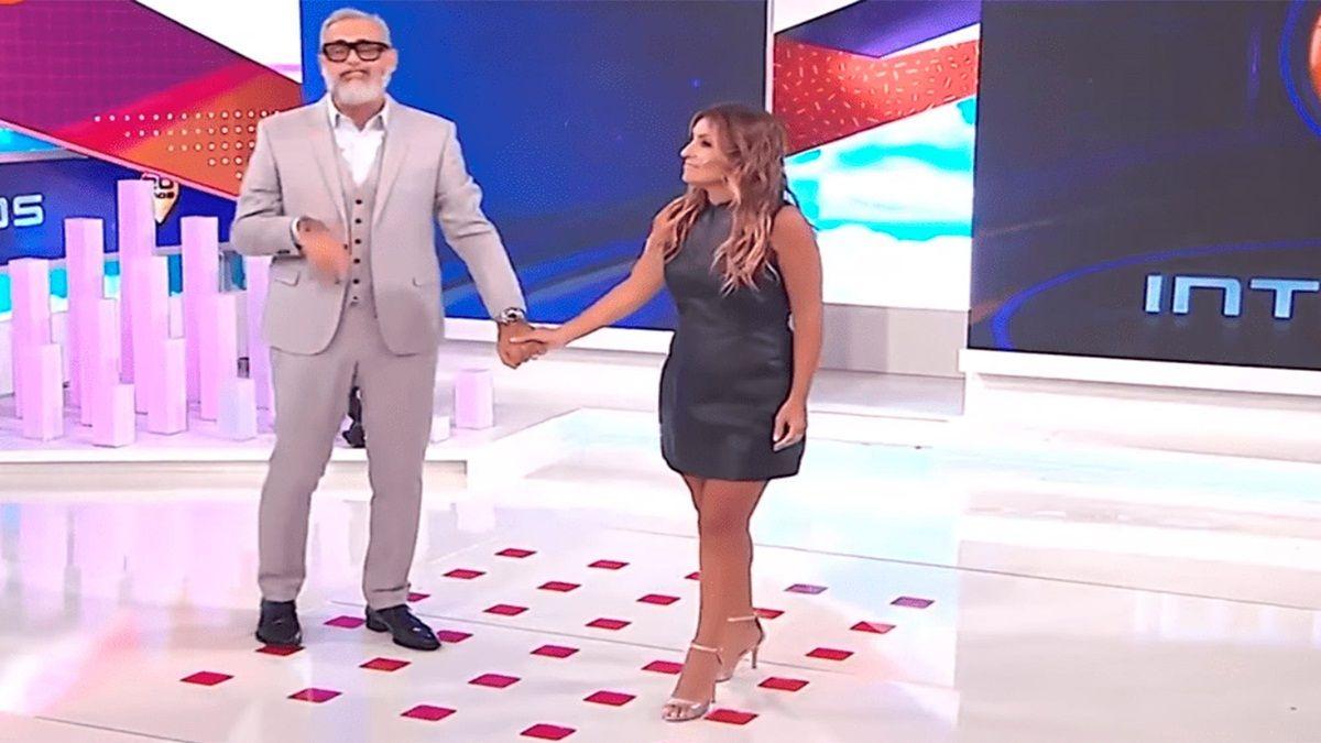 Jorge Rial hace bromas tras discutir con Marcela Tauro