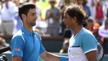 Rafa Nadal expresa disconformidad con algunas cosas hechas por Djokovic