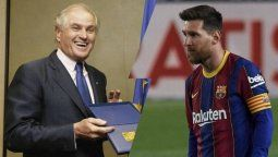 ¿De blanco? Lionel Messi quiso ser fichado por un presidente del Real Madrid