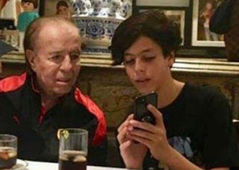 Carlos Menem ya está en Chile y hoy sábado daría una conferencia de prensa sobre la salud de Máximo