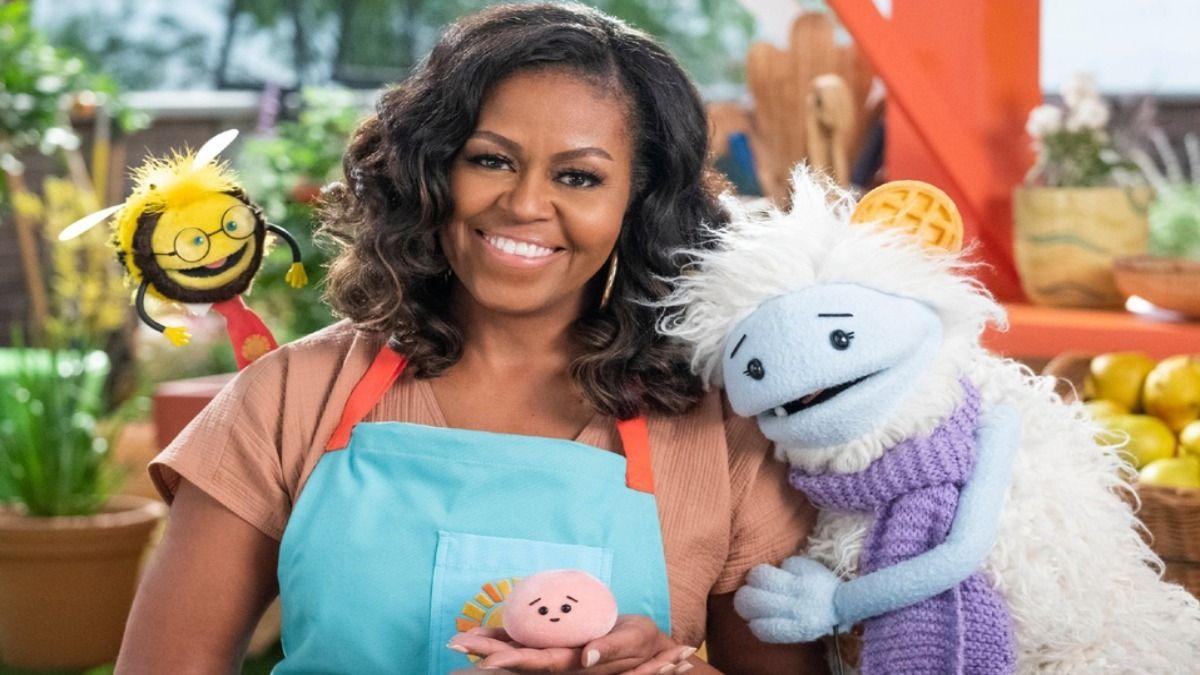En marzo Michelle Obama estrena en Netflix su show Waffles+Mochi