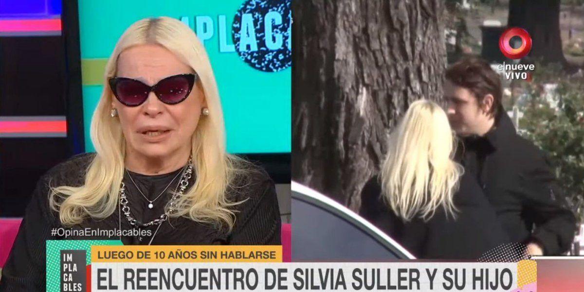 Desconsolada, Silvia Süller contó cómo fue el reencuentro con su hijo Cristian y teme no volver a verlo