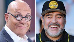 El mismo día de la muerte de Diego Maradona, el humorista Campi eligió imitarlo en Flor de Equipo antes que se supiera la terrible noticia.