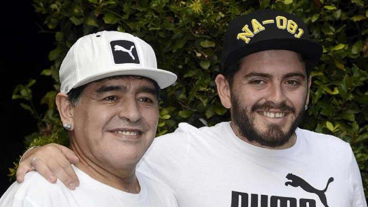 Foto: Diego Junior se hizo un tatuaje en homenaje a su padre