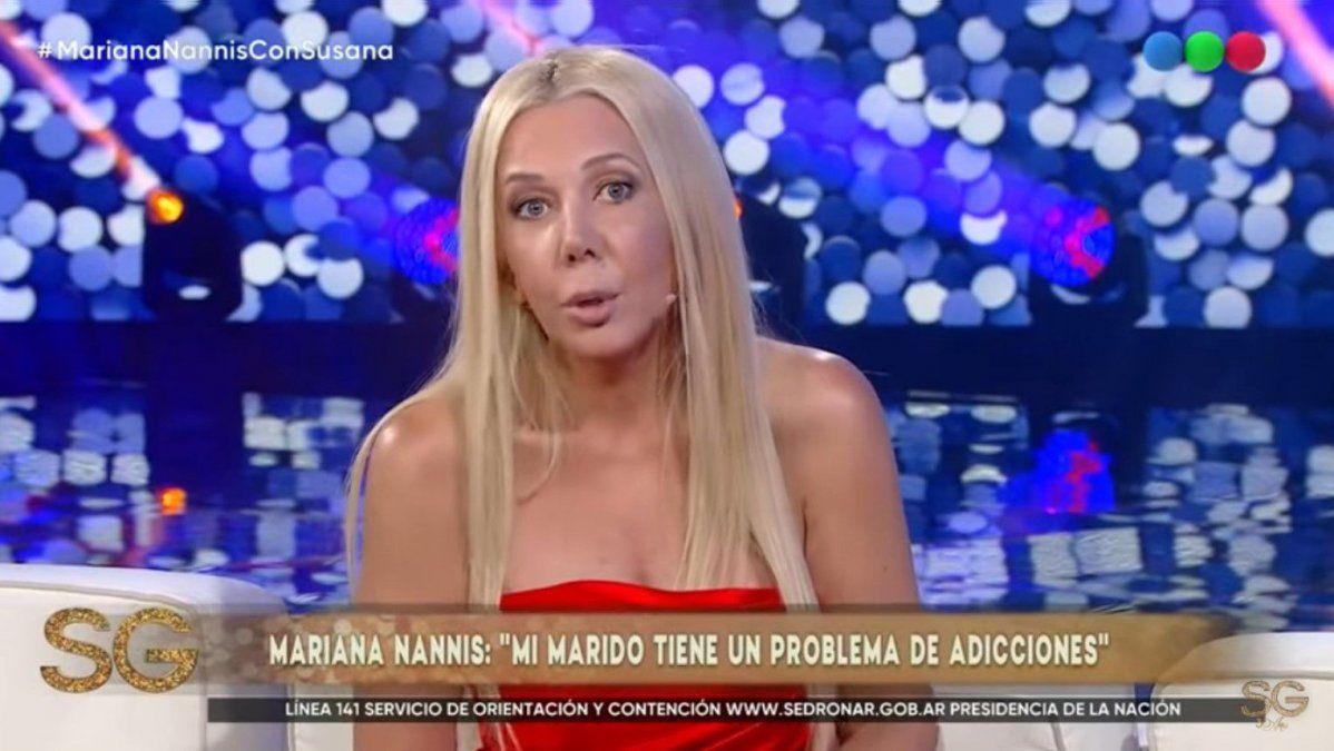 Mariana Nannis, explosiva contra Claudio Caniggia: adicción a las drogas, violencia, golpes, y la pérdida de un embarazo