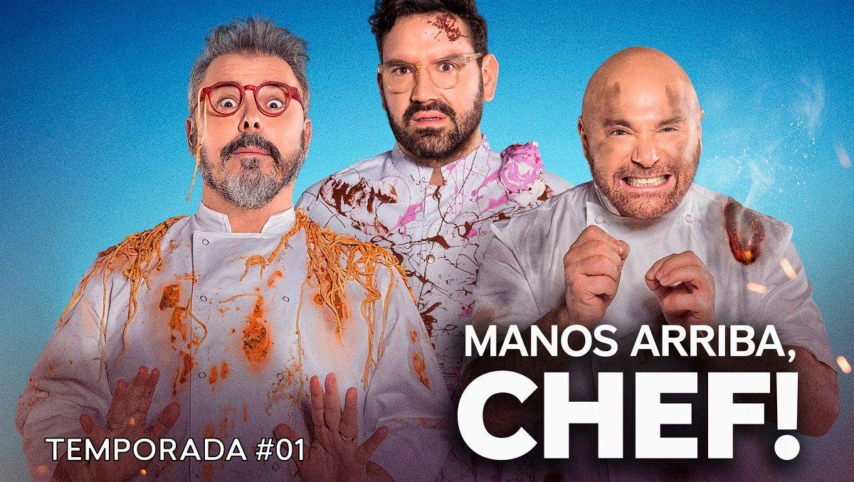 Paramount Plus: se estrenó el primer capítulo de Manos Arriba Chef