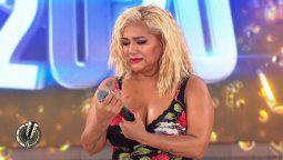 Gladys La Bomba Tucumana se quebró en vivo en el Cantando y amenazó con dejar el certamen