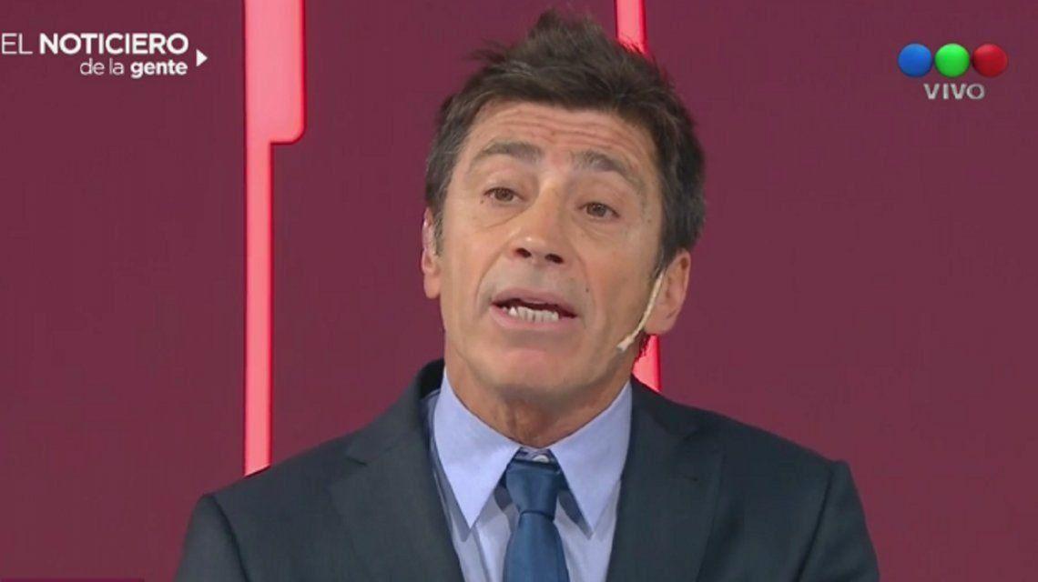 ¿Nicolás Repetto termina su contrato y no vuelve en el 2018 al noticiero de Telefe?