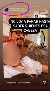 Daniel Osvaldo y su nueva novia Constanza de Palma