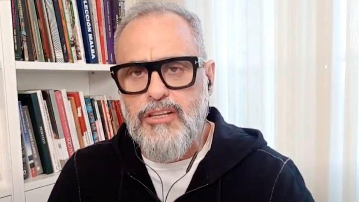 Jorge Rial habló sobre la cuarentena y la televisión
