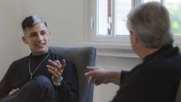 L-Gante enfrentó las críticas por su encuentro con Alberto Fernández