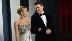 Scarlett Johansson se casó por tercera vez, ahora con Colin Jost