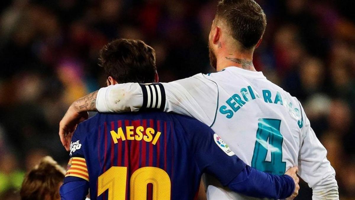 ¡Quiere con él! Lionel Messi es deseado por Sergio Ramos