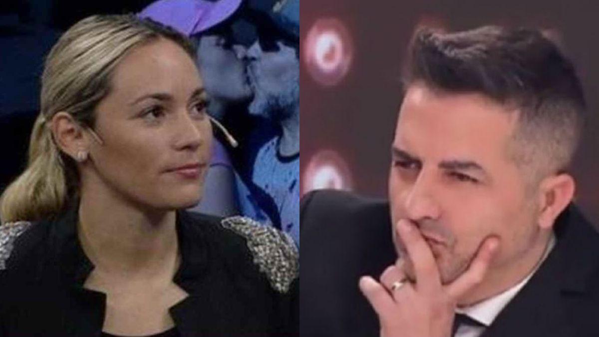 Fue primero a llorar a la tele: Ángel de Brito lapidario con Rocío Oliva