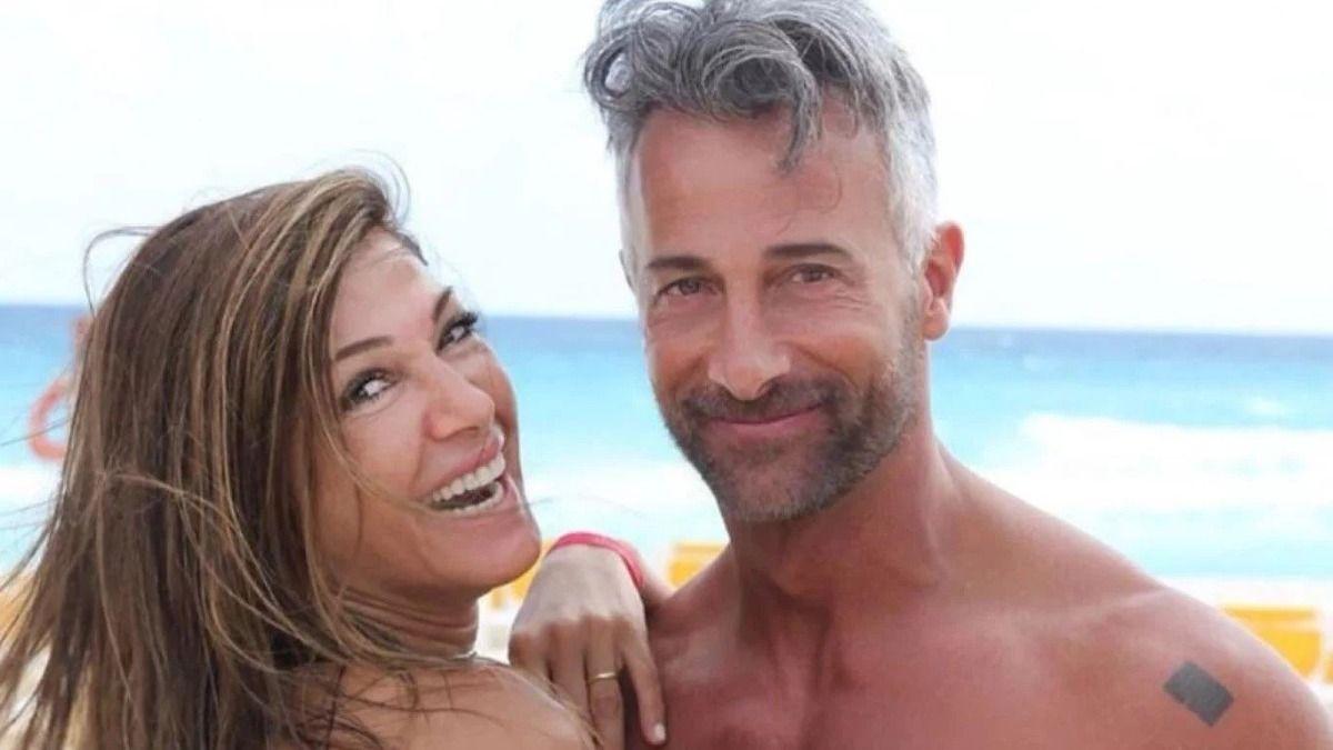 Ova Sabatini junto a su esposa la actriz Caterine Fulop