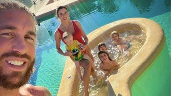 ¡Un reto! Pilar Rubio y su familia compiten en apnea
