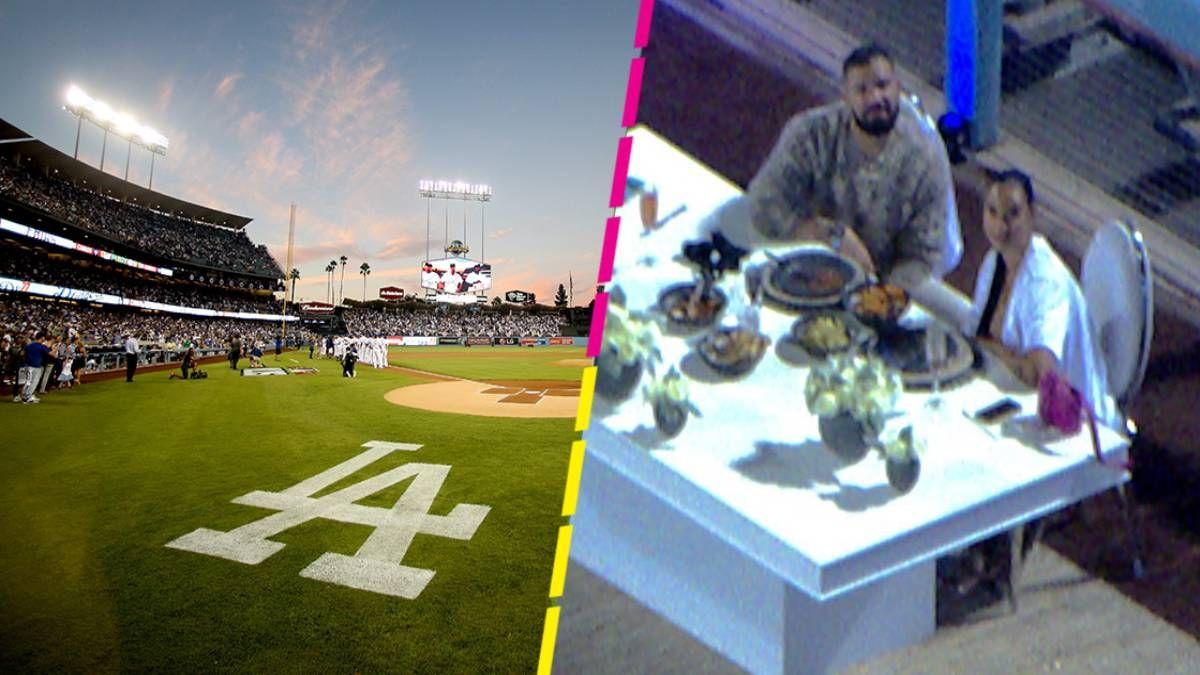 ¡Qué lujo! Drake alquiló un estadio de béisbol para una cena romántica