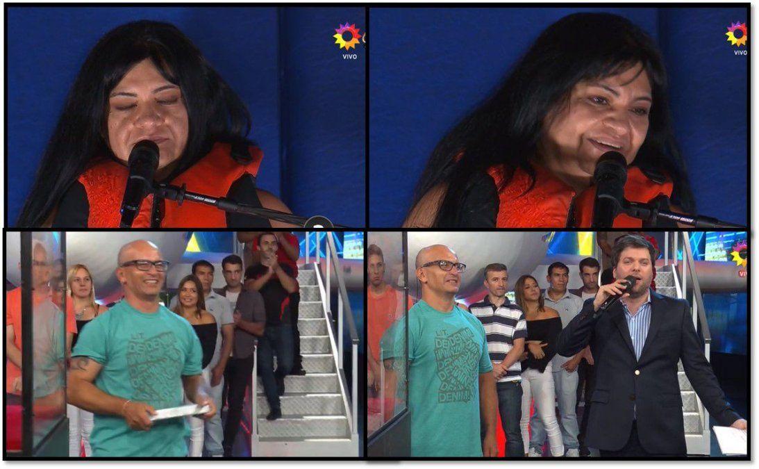 Más problemas en el programa de Guido Kaczka: participante sacó el lingote pero no ganó el premio y una señora se descompuso