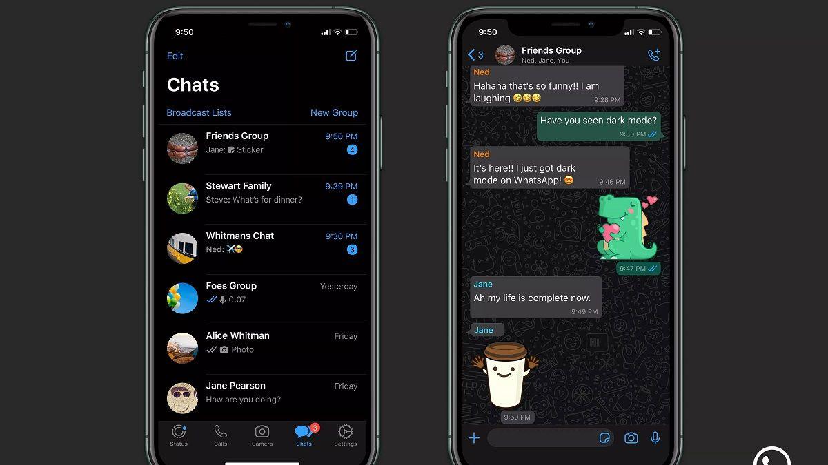 Apps de la compañía Facebook como WhatsApp
