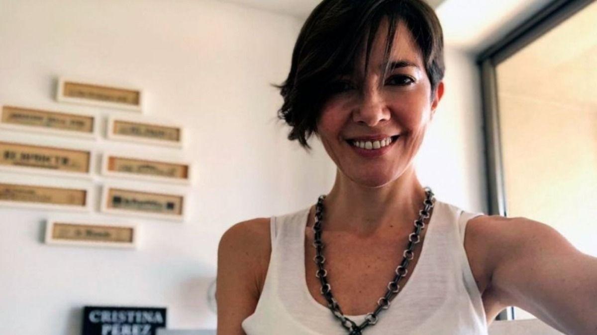 La periodista Cristina Pérez mostró en sus redes como es su día a día