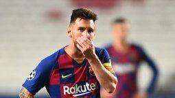 El jugador de Barcelona Lionel Messi debutará esta temporada ante el Villareal