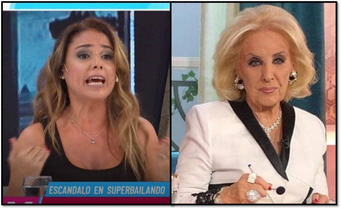 Una vez más, Marina Calabró chicaneó a Mirtha Legrand