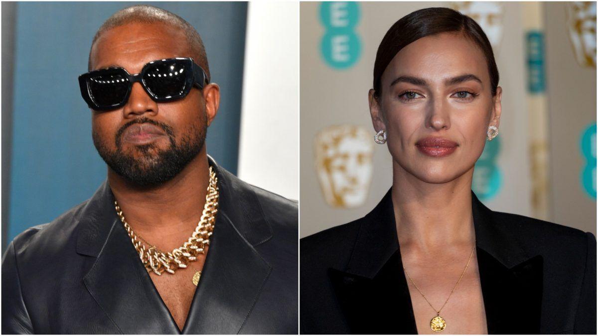 Irina Shayk parece haber terminado con Kanye West