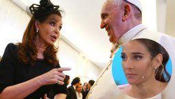 Juana Viale, enojada con el Papa Francisco